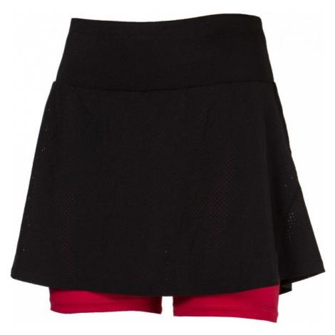 Progress SS MIA SKIRT červená - Dámská běžecká sukně 2v1