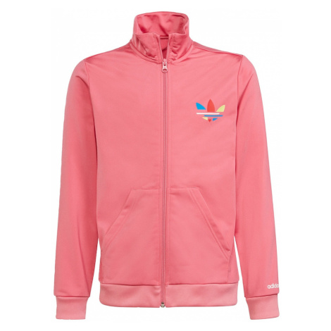 ADIDAS ORIGINALS Přechodná bunda 'Adicolor' růžová / mix barev