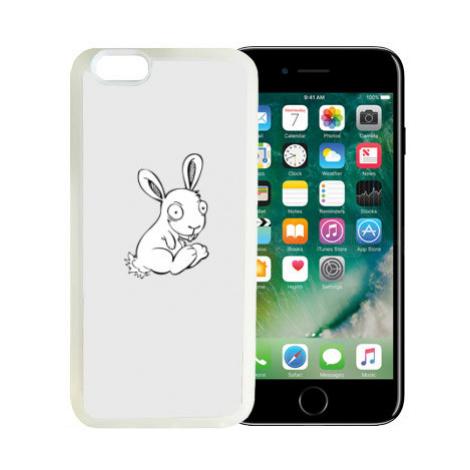 iPhone 7/8 kryt gumový soft Zajíček