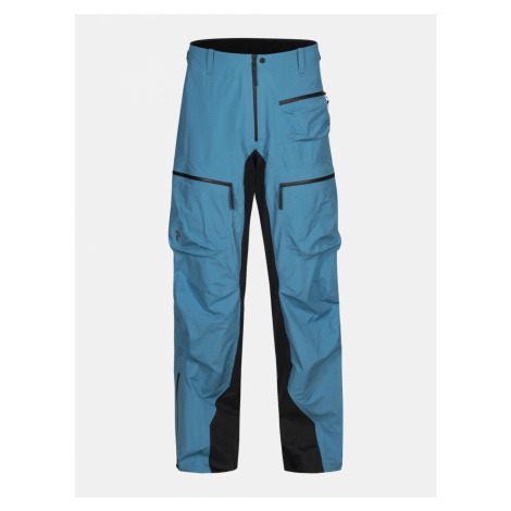 Kalhoty Peak Performance Vis T P Active Ski Pants - Modrá