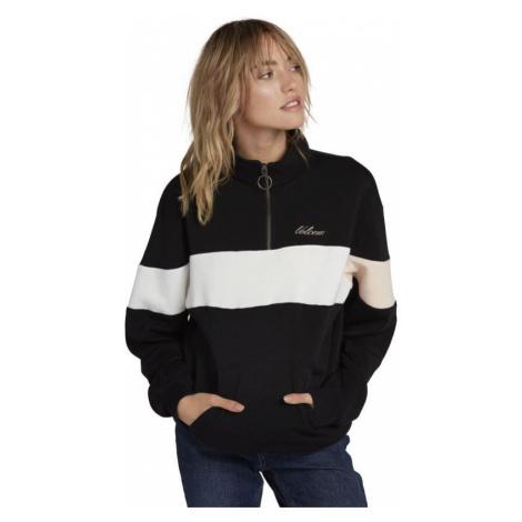 MIKINA VOLCOM Short Staxx Pullover WMS - černá
