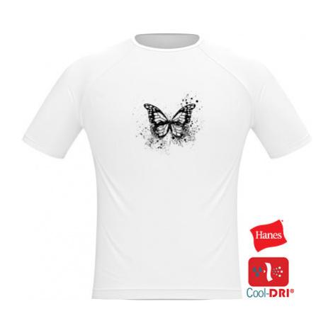 Pánské tričko SPORT Motýl grunge