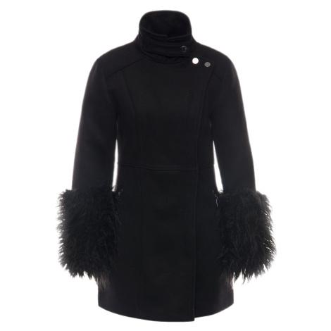 Černý kabát - ARMANI EXCHANGE