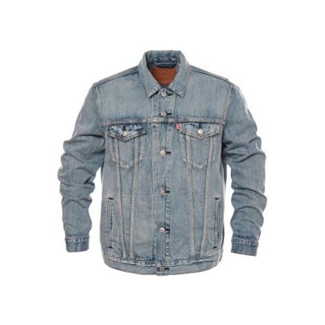 Džínová bunda Levi´s® The Trucker pánská světle modrá