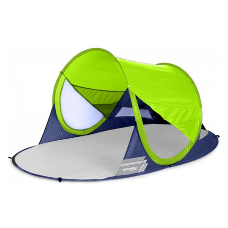 Spokey STRATUS Samorozkládací outdoorový paravan, UV 40, 195x100x85 cm - limetový