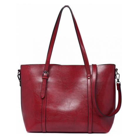 Vínově červená dámská elegantní kabelka Cellie