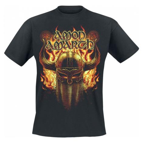 Amon Amarth Helmet Tričko černá