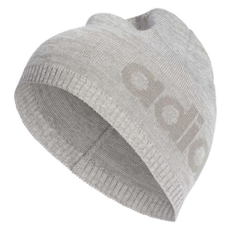 adidas DAILY BEANIE LIGHT šedá - Čepice