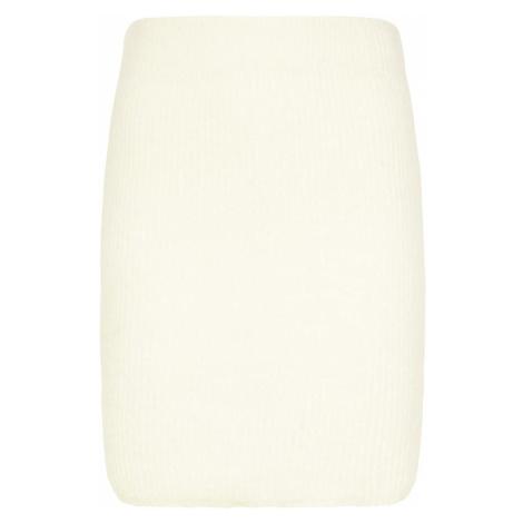 Faina Sukně barva bílé vlny