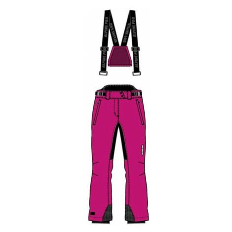 Dámské lyžařské kalhoty Alpine Pro FERRARA - růžová