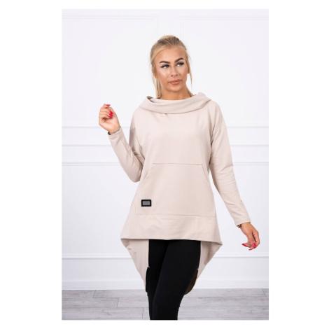 Women's hoodie Kesi Asymmetric