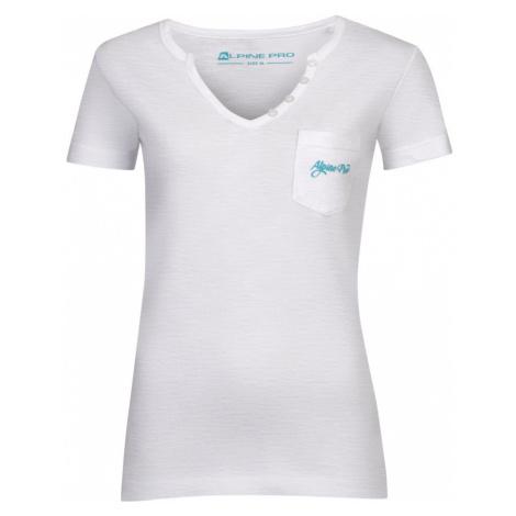 Dámské triko Alpine Pro ROPERA 2 - bílá