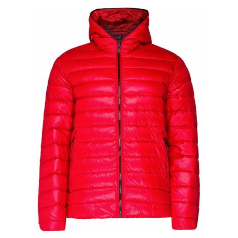 Prošívaná bunda EA7 EMPORIO ARMANI červená