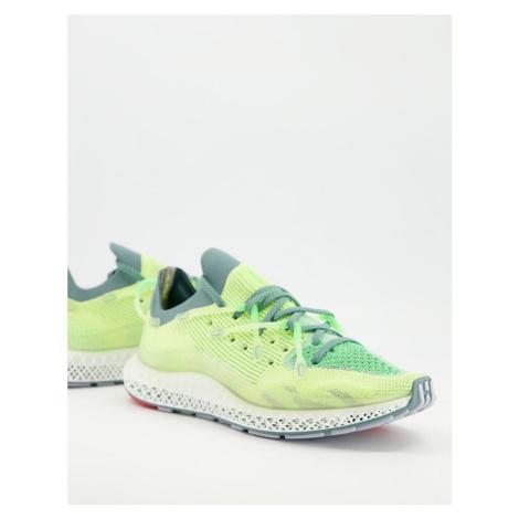 Adidas Originals 4D Fusio trainers in frozen lemon-White