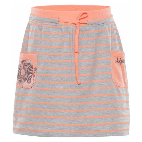 ALPINE PRO IMAGO Dětská sukně KSKN047342PB sweet coral