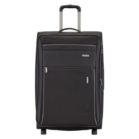 Travelite Cestovní kufr Capri 2w L Black 112/127 l
