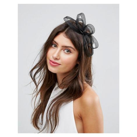 ASOS DESIGN simple hair fascinator headband - Black