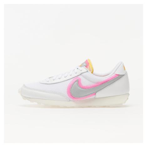 Nike Daybreak White/ Metallic Silver-Hyper Pink