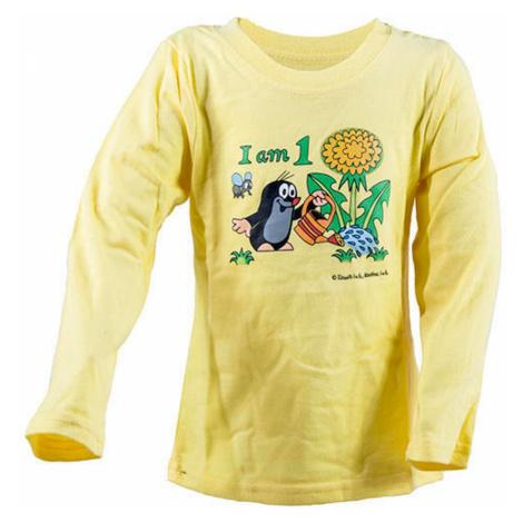 tričko dívčí KRTEK Iam, Pidilidi, 2002-04-06-08-10-12, žlutá