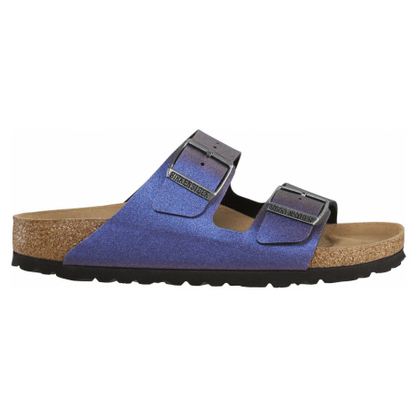 Arizona BF Icy Metallic Violet Birkenstock