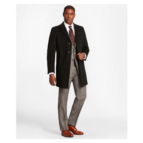 Kabát Brooks Brothers Brooksstorm Short Town Coat - Černá