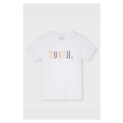 Chlapecké tričko Mayoral Youth bílé