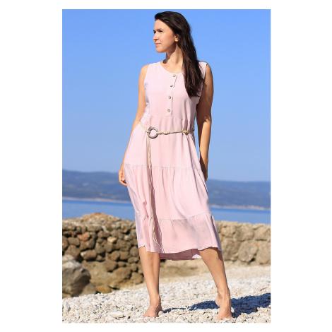 Dámské letní midi šaty