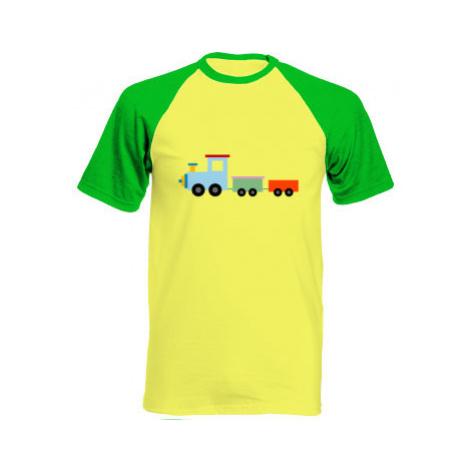 Pánské tričko Baseball Kids train