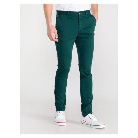 Kalhoty Armani Exchange Zelená