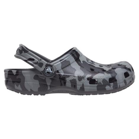 Pánské boty Crocs CLASSIC CAMO šedá