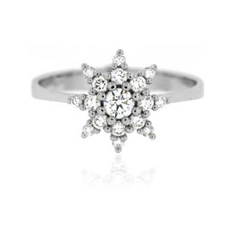 Diamantový prsten hvězdička 34000 OPTIMA DIAMANT