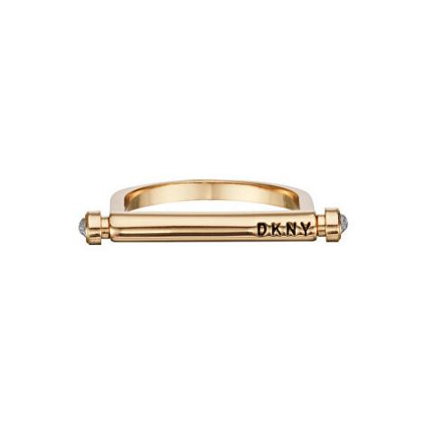 DKNY Elegantní prsten The City Street - In Motion 552009