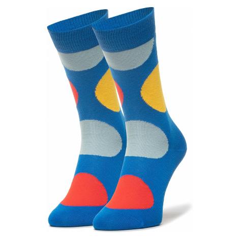Klasické ponožky Unisex HAPPY SOCKS - JUB01-6300 Barevná Modrá