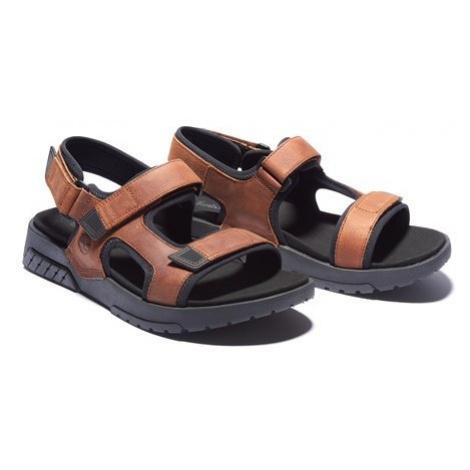 Timberland Timberland pánské hnědé sandály ANCHOR WATCH