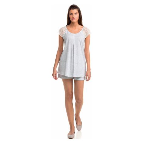 Dvoudílné dámské pyžamo 14025