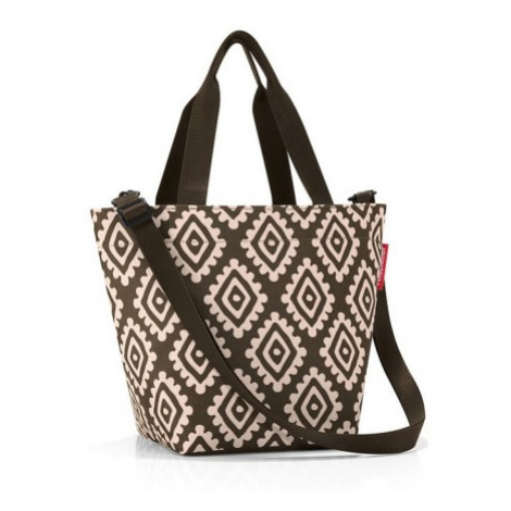 Taška a kabelka Reisenthel Shopper XS Diamonds mocha