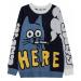 Pánský svetr s kočkou FashionEU