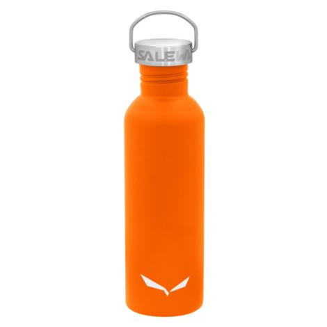 Láhev Salewa Aurina Stainless Steel Bottle 1 l Double Lid Orange
