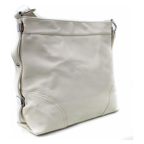 Světle béžová velká dámská kabelka Loreley Mahel