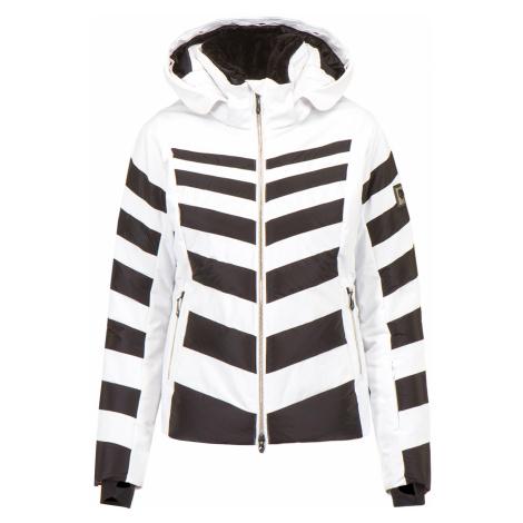 Lyžařská bunda Descente NIKA bílá|černá