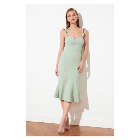 Trendyol Mint Hanger Detail Dress