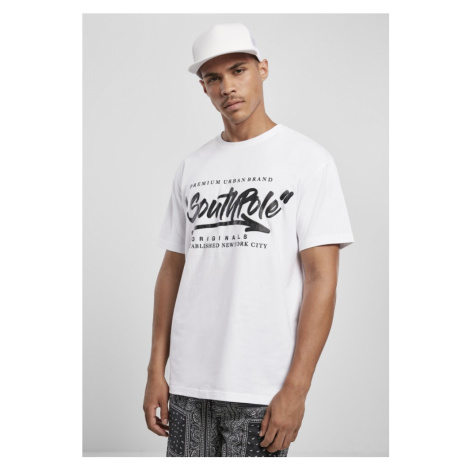 Southpole Short Sleeve Tee - white