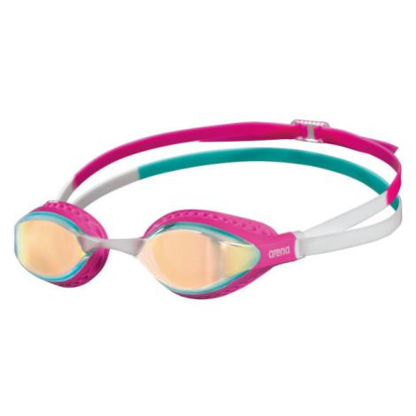 Arena AIRSPEED MIRROR růžová - Plavecké brýle