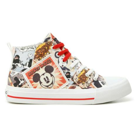 Desigual kotníkové tenisky Shoes Beta Mickey