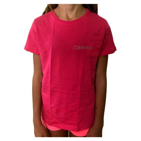 Dívčí tričko Calvin Klein G800280 | růžová