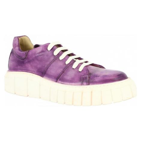 Leonardo Shoes GIULIA-01L VIOLA Fialová