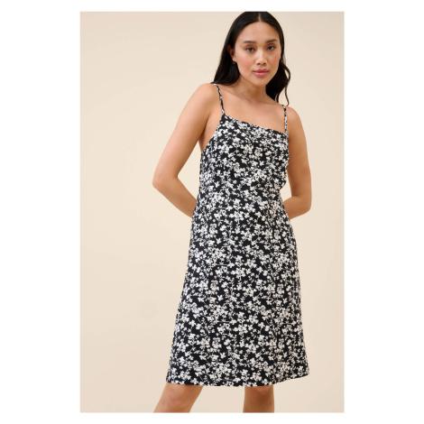 Květované šaty na ramínka Orsay