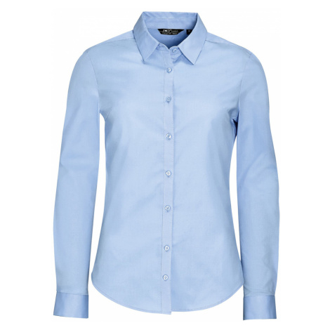 SOĽS Dámská košile dlouhý rukáv BLAKE WOMEN 01427240 Light blue SOL'S