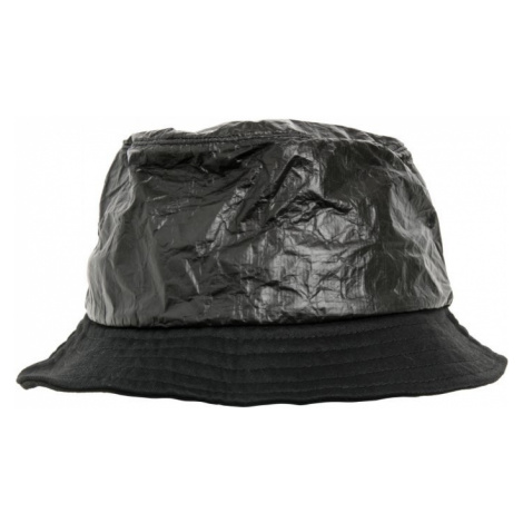 Crinkled Paper Bucket Hat - black Urban Classics