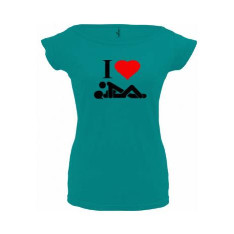 Dámské tričko Elegance I Love Sex